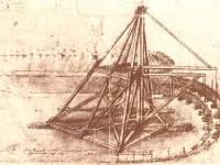 Leonardo da Vinci diseñó numerosos artilugios precursores de la actual maquinaria