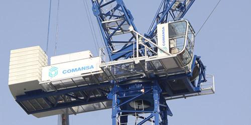 Dos nuevas grúas abatibles de 18 y 24 toneladas de Comansa