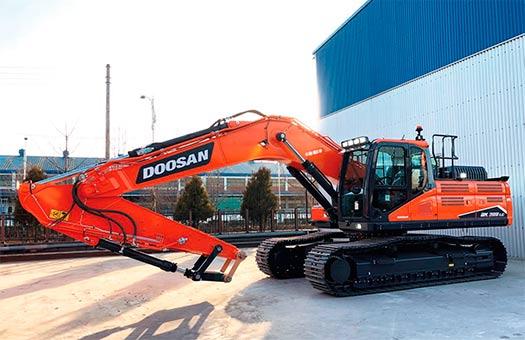 Nuevas excavadoras Doosan de Fase IV