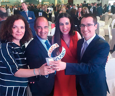 Cohidrex recibe premio al Desarrollo Empresarial