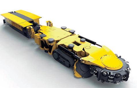 Minadores móviles Epiroc, modelos 22H, 40V y 55V, especiales para túneles pequeños y medianos
