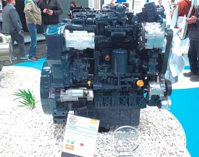 El nuevo motor V5009 de Kubota ha recibido el importante galardón, que se ha presentado en la feria Bauma