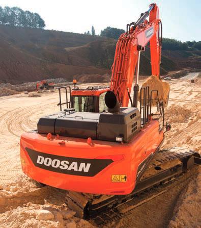 Premio a la excavadora Doosan DX300LC-5