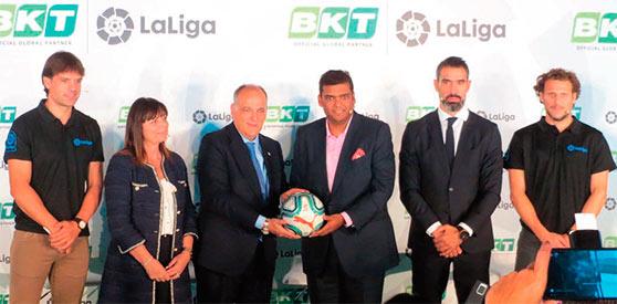 BKT ha «fichado» como patrocinador del fútbol español