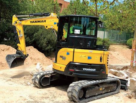 Las excavadoras del fabricante japonés Yanmar