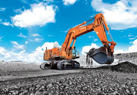 Hitachi celebra 70 años de excavadoras