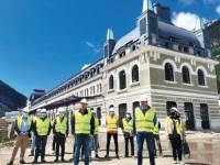 Obras en la Estación de Canfranc